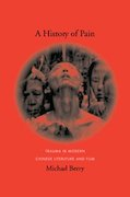"Book cover image of ""A History of Pain"" by Michael Berry"